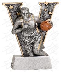 6 inch Female Basketball V Series Resin