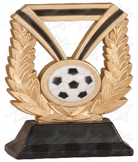 6 inch Soccer Dura Resin
