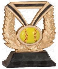 6 inch Softball Dura Resin