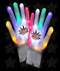 LED Rainbow Gloves