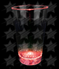 LED 16 oz Color Morphing Pint Glass