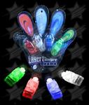 BLANK LED Finger Lights - Assorted 4ct
