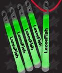 BLANK 6 Inch Premium Glow Sticks - Green