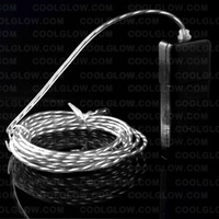 BLANK EL Motion Wire - White 2 Yard