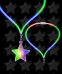 BLANK LED Flashing Lanyard - Star