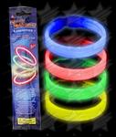 BLANK Glow Retail Packaged Triple Wide Bracelet - Assorted