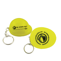 Stress Relievers - Hard Hat Key Chain