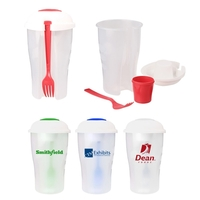 Promotional Lunch 3-Piece Salad Shaker Food Container Lunch