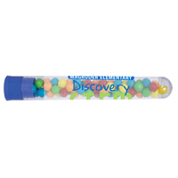 Test Tube Bottle Dispenser with Mini Tarts Candy