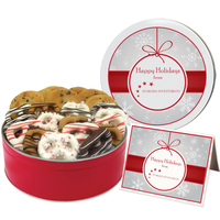 Chocolate Chip / Holiday Pretzel Graham Combo - Regular Tin