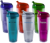 Dual Tumbler with Straw