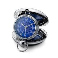 Voyager Clock - Blue