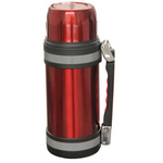 Brentwood 1.5 Liter Vacuum Stainless Steel Bottle - Red