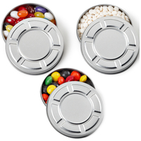 Mini Movie Reel Tin Box with Jelly Beans