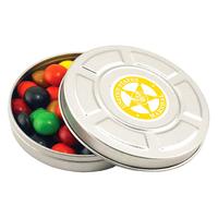 Mini Movie Reel Tin Box Empty