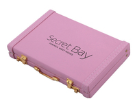 Pink Mini Briefcase Business Card Holder