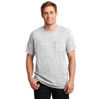 JERZEES - Dri-Power Active 50/50 Cotton/Poly Pocket T-Shirt.