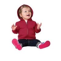 Port & Company Infant Core Fleece Full-Zip Hooded Sweatsh...