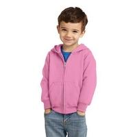 Port & Company Toddler Core Fleece Full-Zip Hooded Sweats...