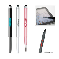 Stylus Pen with Stylus Paintbrush