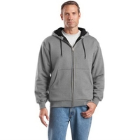 CornerStone - Heavyweight Full-Zip Hooded Sweatshirt with...
