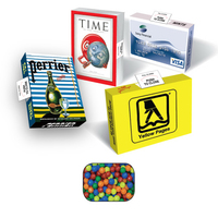 Eco Friendly Advertising Candy Box with Mini-Tarts
