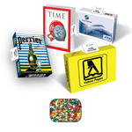 Eco Friendly Advertising Box with Gum
