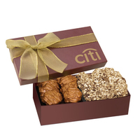 The Executive Almond Butter Crunch & Cashew Turtle Gift Box