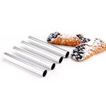 STAINLESS STEEL CANNOLI FORMS, 4 PCS
