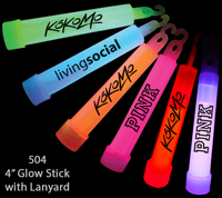 "4"" Light Up Glow Sticks, Bracelets, 22"" Necklaces & Variety-"