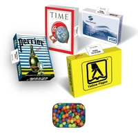Advertising Candy Box with Mini-Tarts