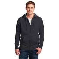 Hanes Nano Full-Zip Hooded Sweatshirt.