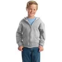 JERZEES - Youth NuBlend Full-Zip Hooded Sweatshirt.