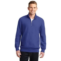Sport-Tek Super Heavyweight 1/4-Zip Pullover Sweatshirt.