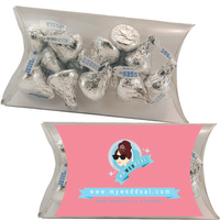 Medium Pillow Pack with Hershey Kisses Chocolate Candy