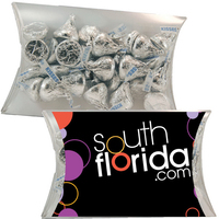 Large Pillow Pack with Hershey Kisses Chocolate Candy