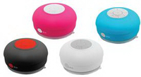 PORTABLE BLUETOOTH RECHARGEABLE SHOWER SPEAKER