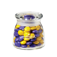 Glass Vibe Jar with chocolate buttons