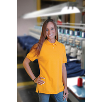 Lady National Solid 100% Cotton Pique