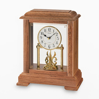 QXW230BLH Seiko Trinidad Wood Mantel Clock