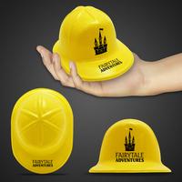 Mini Yellow Construction Hat