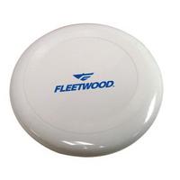 """10"""" Flying Hard Plastic Disc White"""