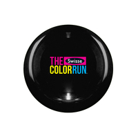 "10"" Flying Hard Plastic Disc-Black Full Color"