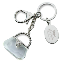 Acrylic Purse Key Chain