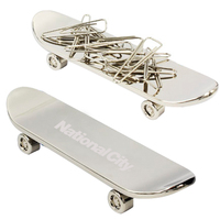 Fingerboard Paper Clip Holder