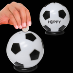 "3 1/2"" Soccer Ball Sports Bank"