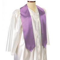 "Lavender 72"" Graduation Sash"