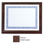 Rivetless Wood Laminate Slip-In Certificate Frame