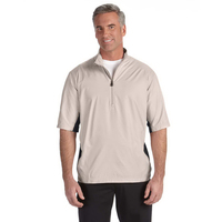 Golf Mens's ClimaLite (R) Colorblock 1/2 Zip Wind Shirt
