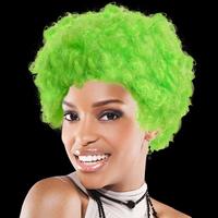 Green Spirit Cheering Costume Wig